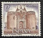 Sellos de Europa - España -  Puerta de bisagra (Toledo)