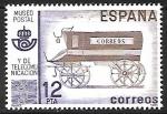 Sellos de Europa - España -  Museo Postal y de Telecomunicaciones -