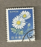 Stamps Asia - Japan -  Flores