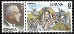 Stamps Spain -  Jacinto Guerrero -