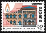 Stamps : Europe : Spain :  IV cent. Universidad de Zaragoza