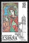 Stamps : Europe : Spain :  Vidrieras artísticas - La Epifania - Catedral de Gerona