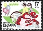 Stamps Spain -  Feria de Abril (sevilla)