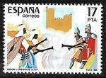 Sellos de Europa - España -  Moros y cristianos (Alcoy)