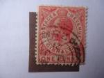 de Europa - Gibraltar -  King George V - Esfinge de George V.