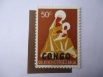Sellos de Africa - República del Congo -  Christmas 1960 - Madonna and Child