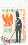 Stamps Equatorial Guinea -  Soldados de Napoleón- cabo de granaderos