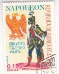 Sellos de Africa - Guinea Ecuatorial -  Soldados de Napoleón- coronel general de Husares