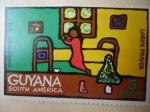 Stamps Guyana -  Christmas 1971