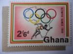 Sellos de Africa - Ghana -  Juegos Olímpicos de Verano 1960 Roma