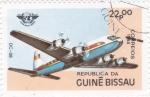 Sellos del Mundo : Africa : Guinea_Bissau : AVIÓN DC-68