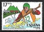 Sellos de Europa - España -  Descenso del Rio Arriondas