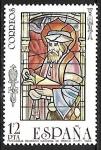 Stamps of the world : United States :  Vidrieras artísticas - Personaje religioso (Catedral de Toledo)
