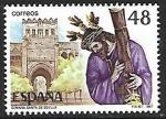 Stamps Spain -  Grandes Fiestas Populares españolas - Semana Santa (Sevilla)