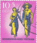 Stamps Germany -  Vietnam invencible