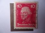 Sellos del Mundo : Europa : Alemania :  Friedrich Der Grosse (1712-1786) Federico II de Prusia - Federico II el Grande