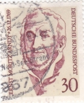 Stamps Germany -  Ernest Moritz Arndt-poeta