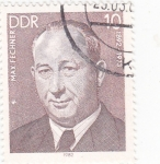Stamps Germany -  Max Fechner-ministro de justicia