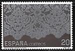 Stamps Spain -  Artesanía española. Encajes