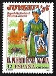 Sellos de Europa - España -  Juvenia' 96 El Puerto de Santa María