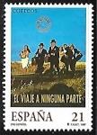 Sellos de Europa - España -  Cine español - El viaje a ninguna parte