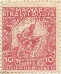 Stamps Hungary -  MAGYAR KIRALYI POSTA