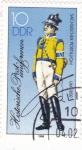 Stamps Germany -  Historia uniformes de correos