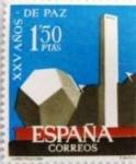 Sellos de Europa - España -  PAZ ESPAÑOLA