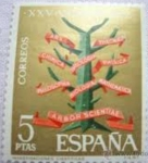 Stamps Spain -   1587