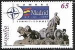 Stamps Spain -  Cumbre del Consejo del Atlántico norte