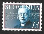 Stamps : Europe : Slovenia :  132 - Fran Saleski Finzgar, sacerdote y escritor
