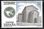Sellos del Mundo : Europa : España :  Patrimonio Mundial de la Humanidad - Santa Cristina de Lena