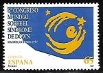 Sellos de Europa - España -  6º Congreso Mundial sobre el Síndrome de Down