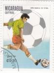Stamps : America : Nicaragua :  COPA MUNDIAL DE FUTBOL ESPAÑA