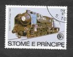Stamps : Africa : São_Tomé_and_Príncipe :  686 - Locomotora