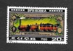 Stamps North Korea -  150ª Aniversario de la Línea Liverpool-Manchester 1830