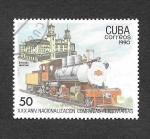 Stamps : America : Cuba :  3252 - XXX Aniversario de la Nacionalización de la Compañia Ferroviaria