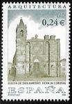 Sellos de Europa - España -  Arquitectura - Igrexa de San Martiño , Noia (A Coruña)