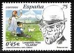 Stamps Spain -  Literatura Española - Leopoldo Alas