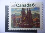 Sellos de America - Canadá -  El Grupo de los Siete (1920) 50° Aniversario de Pintores Paisajistas Canadiense.