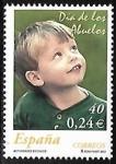 Stamps : Europe : Spain :  Actividades sociales - Dia de los abuelos