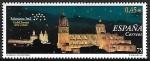 Stamps : Europe : Spain :  Salamaca Vista nocturna