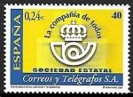 Stamps : Europe : Spain :  Sociedad Estatal de Correos y Telégrafos