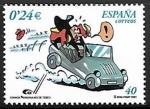 Stamps : Europe : Spain :  Comics - Personajes de Tebeo