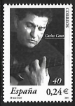 Stamps : Europe : Spain :  Carlos Cano
