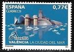 Sellos del Mundo : Europa : España :  Valencia la ciudad del mar
