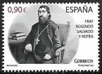 Sellos del Mundo : Europa : España :  Fray Rosendo Salvado  y Rotea