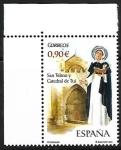 sello : Europa : España : San Telmo y la Catedral de Tuy