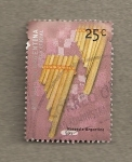 Stamps America - Argentina -  Instrumento musical Siku