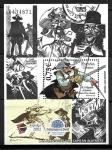 Sellos del Mundo : Europa : España : Las aventuras del Capitán Alatriste